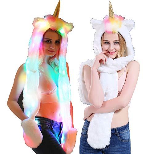 Unicorn Rainbow Scarf